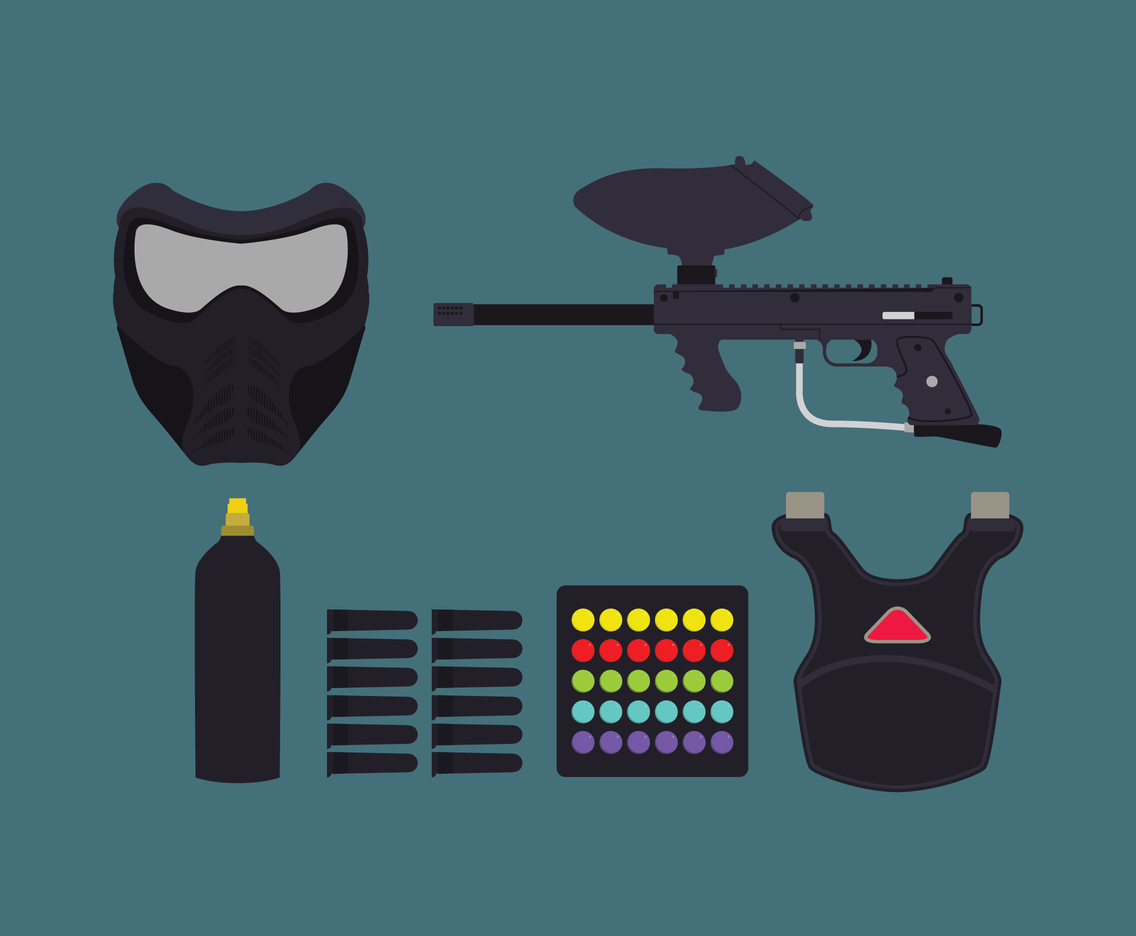 Black Paintball Stuff