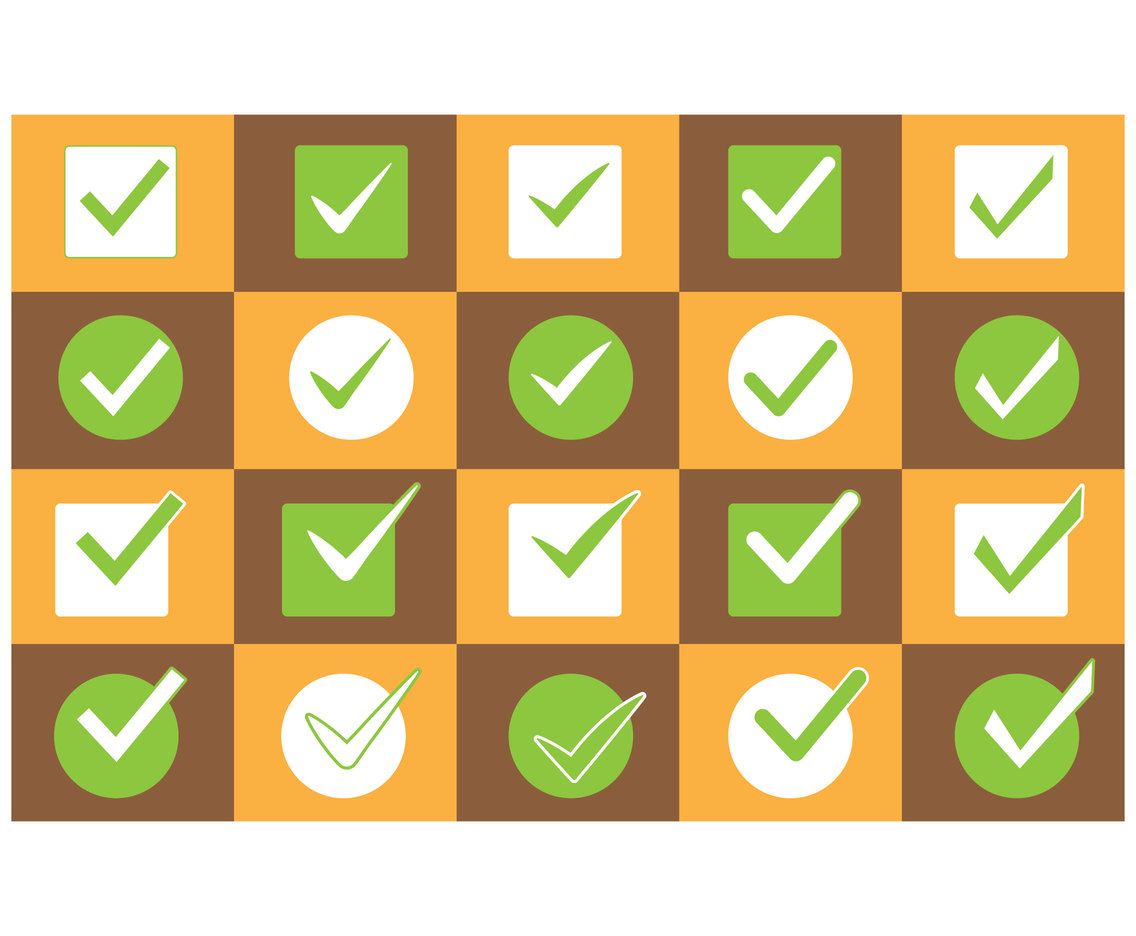 Checkbox icon vector illustration