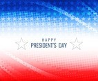 Free Vector President's Day Modern Background