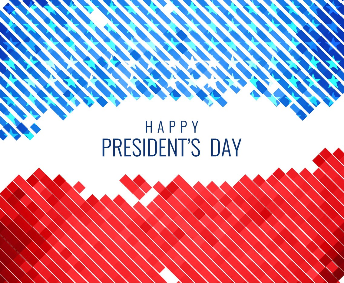 Free Vector President's Day Grungy Background