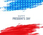 Free Vector President's Day Elegant background