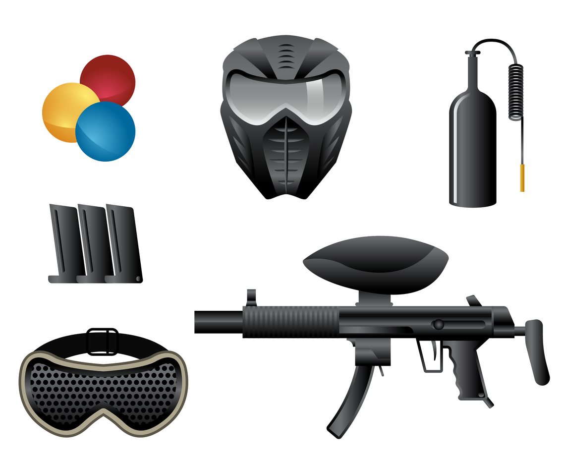 Free Paintball Vector
