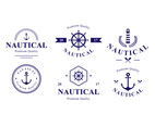 Blue Nautical Badge Design