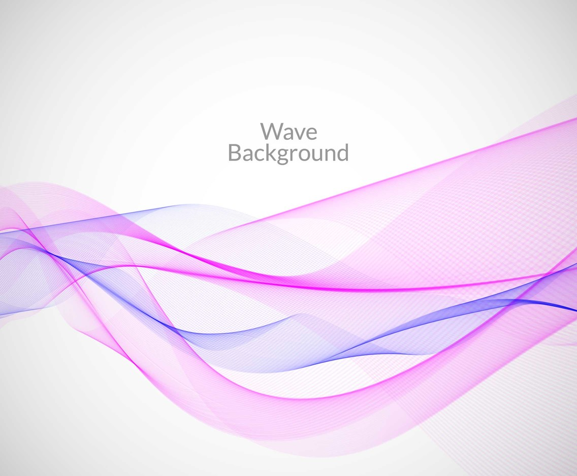 Free Vector Colorful Line Wave Background