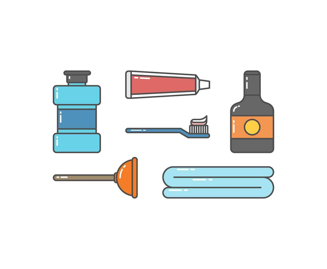 Free Toiletry Vectors