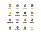 Icons Fruits