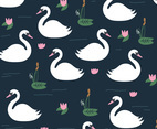 Beautiful Swan Pattern
