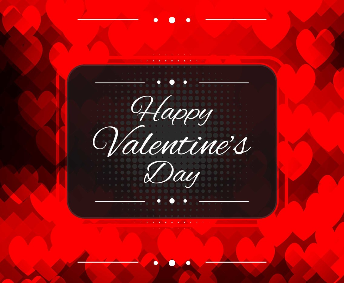 Free Vector Happy Valentine's Day Background