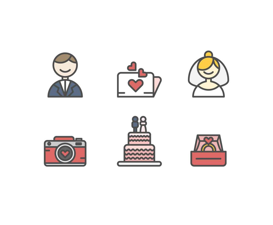 Free Marriage Vectors