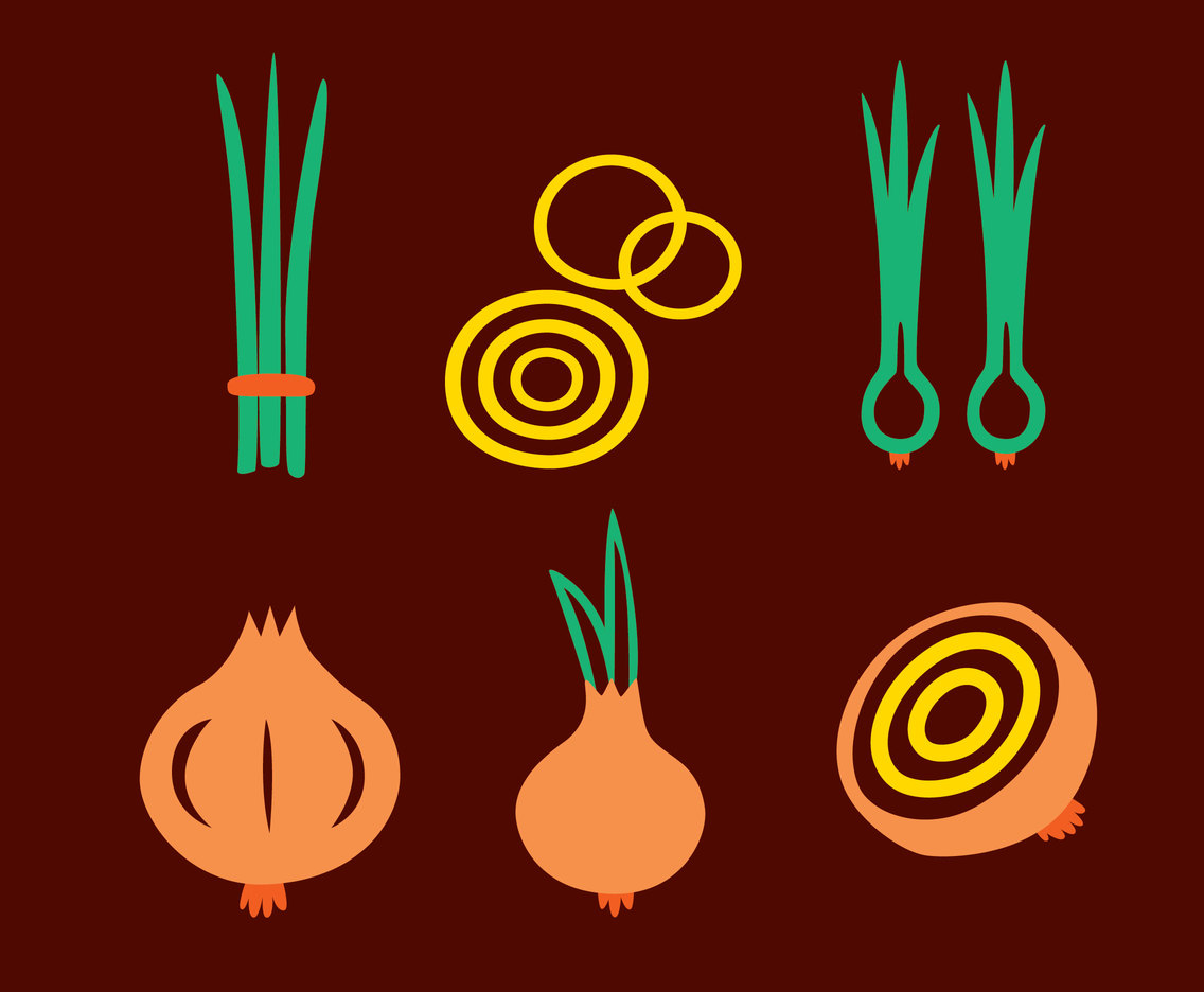 Onion Vector Set