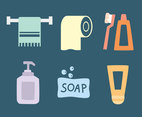 Toiletries Vector Set