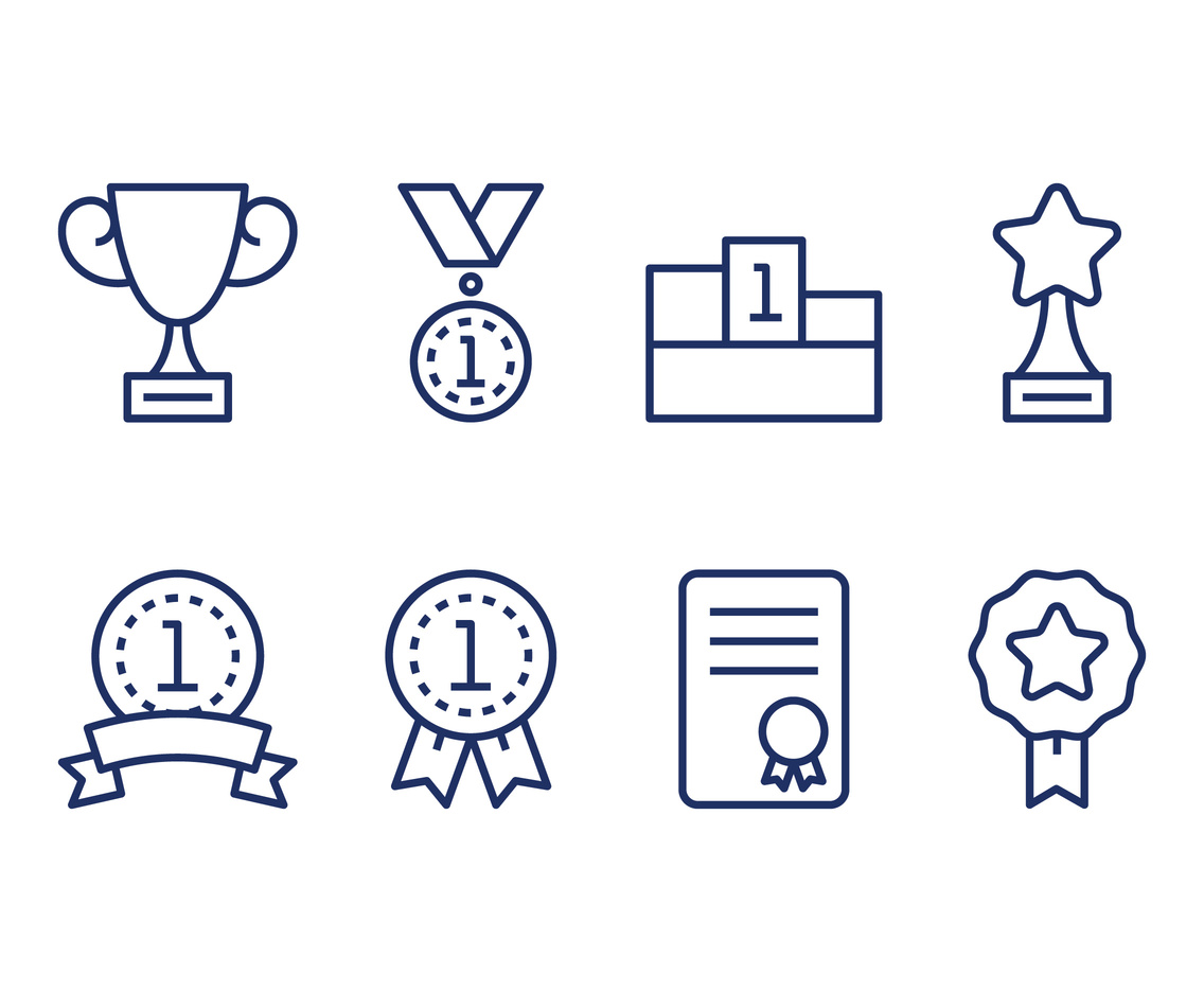 Reward Linear Icons