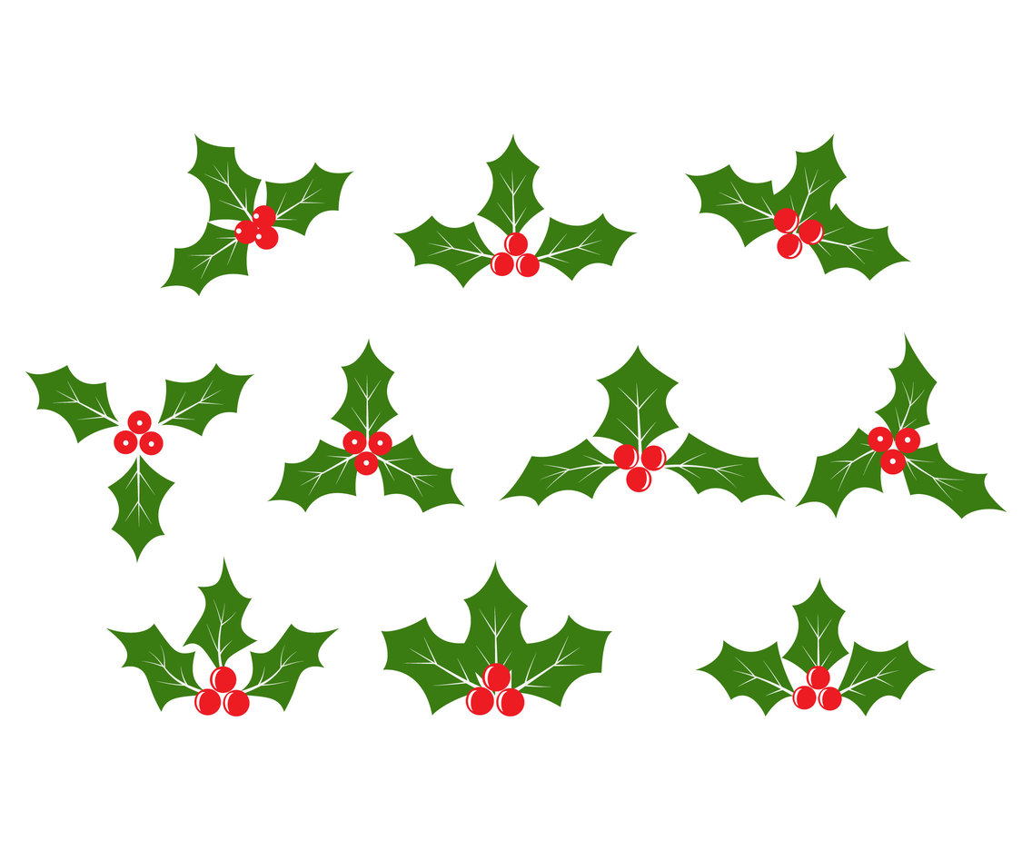 Holly Vector set
