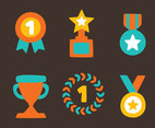 Reward Colors Vector