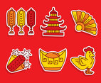 Nice Chinese Culture Element Vector