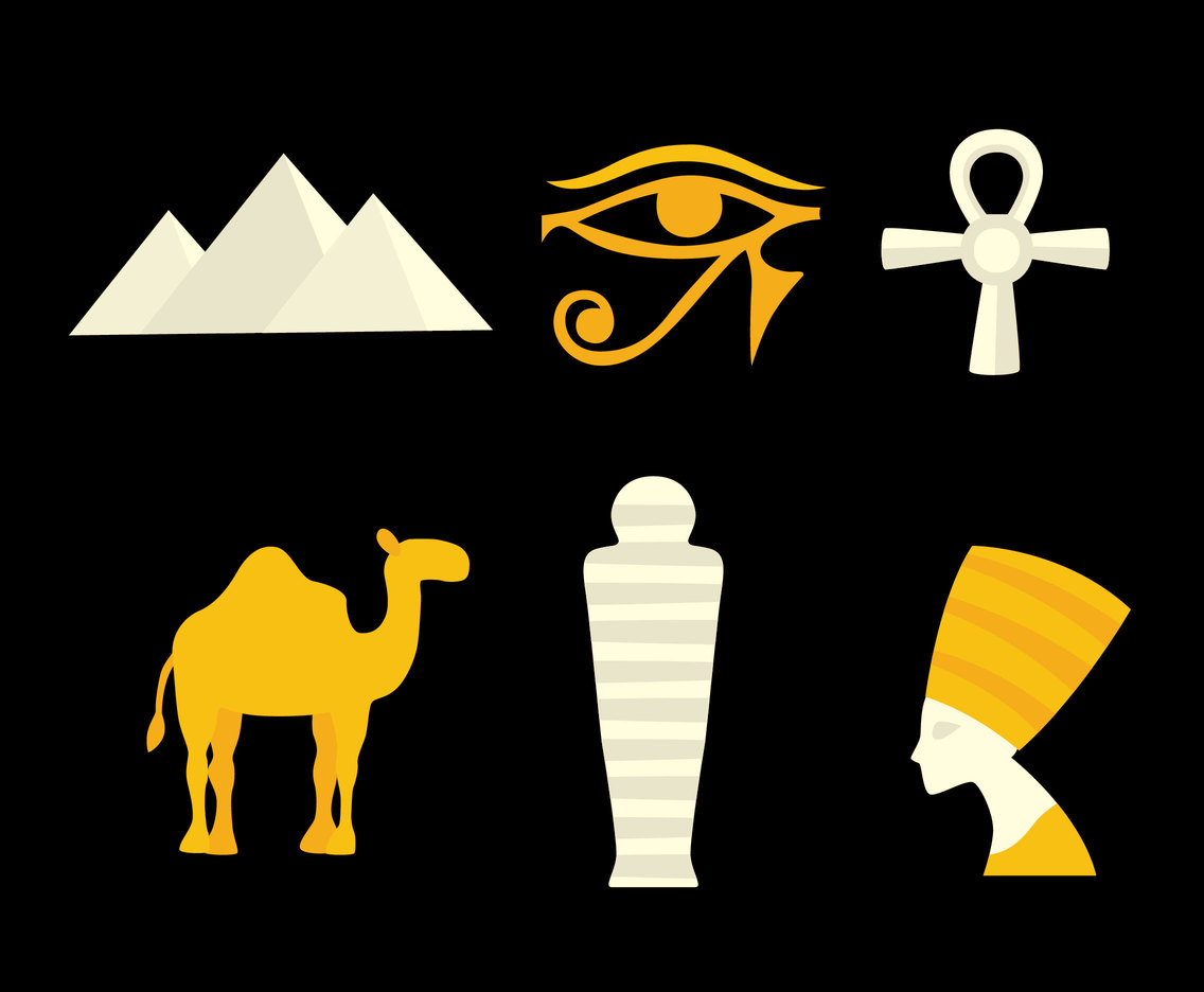 Egyptian Element Vector