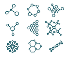 Free Molecules Vector