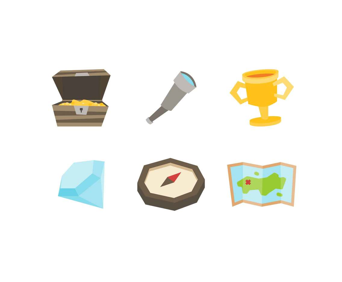 Free Awesome Treasure Hunt Vectors