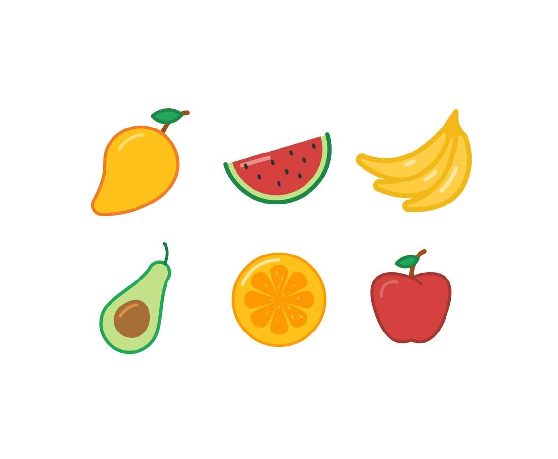 Free Fresh Fruit Vectors