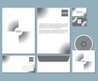 Grey Letterhead Set