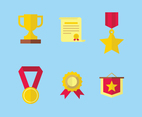 Reward Icons Vector
