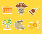 Nice Pirate Treasure Vectors