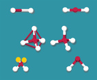 Molecules Vector Set