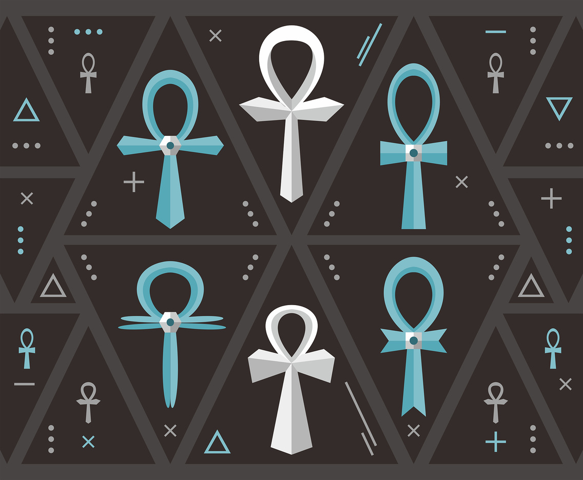 ANKH Key of Life Vector Design
