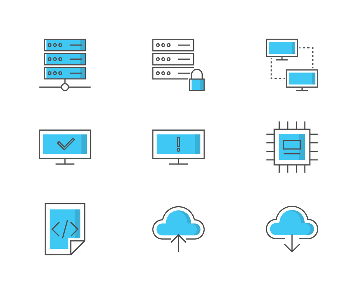 Host Icon Set