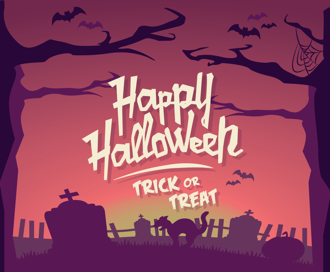 Halloween Horizon Vector