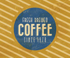 Vintage Coffee Vector