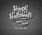 Happy Halloween Cinema Vector