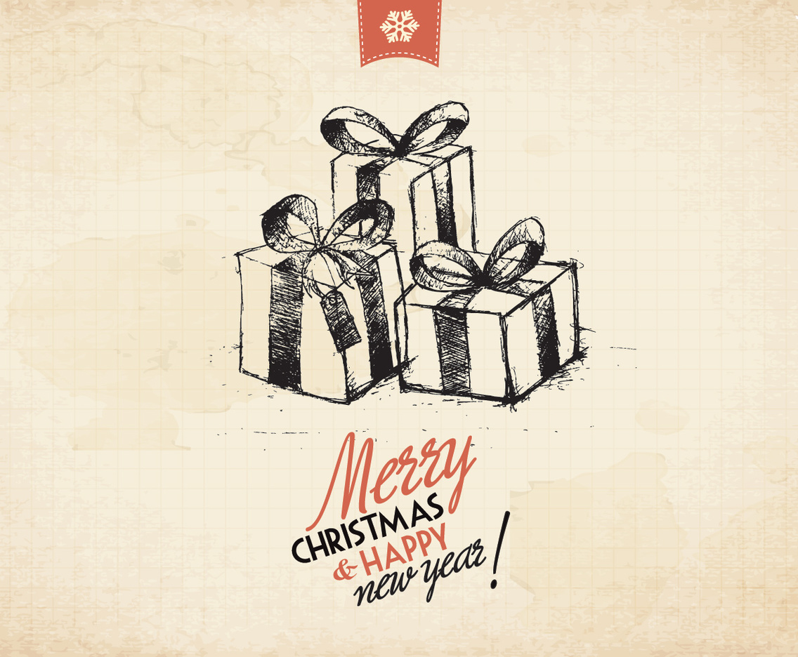 Sketched Gifts Vector