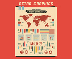 Retro Colorful Graphics Vector