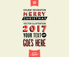 Holiday Decoration Vector
