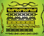Barbed Wire Tribal Vectors