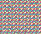 Free Rainbow Diamond Background Vector