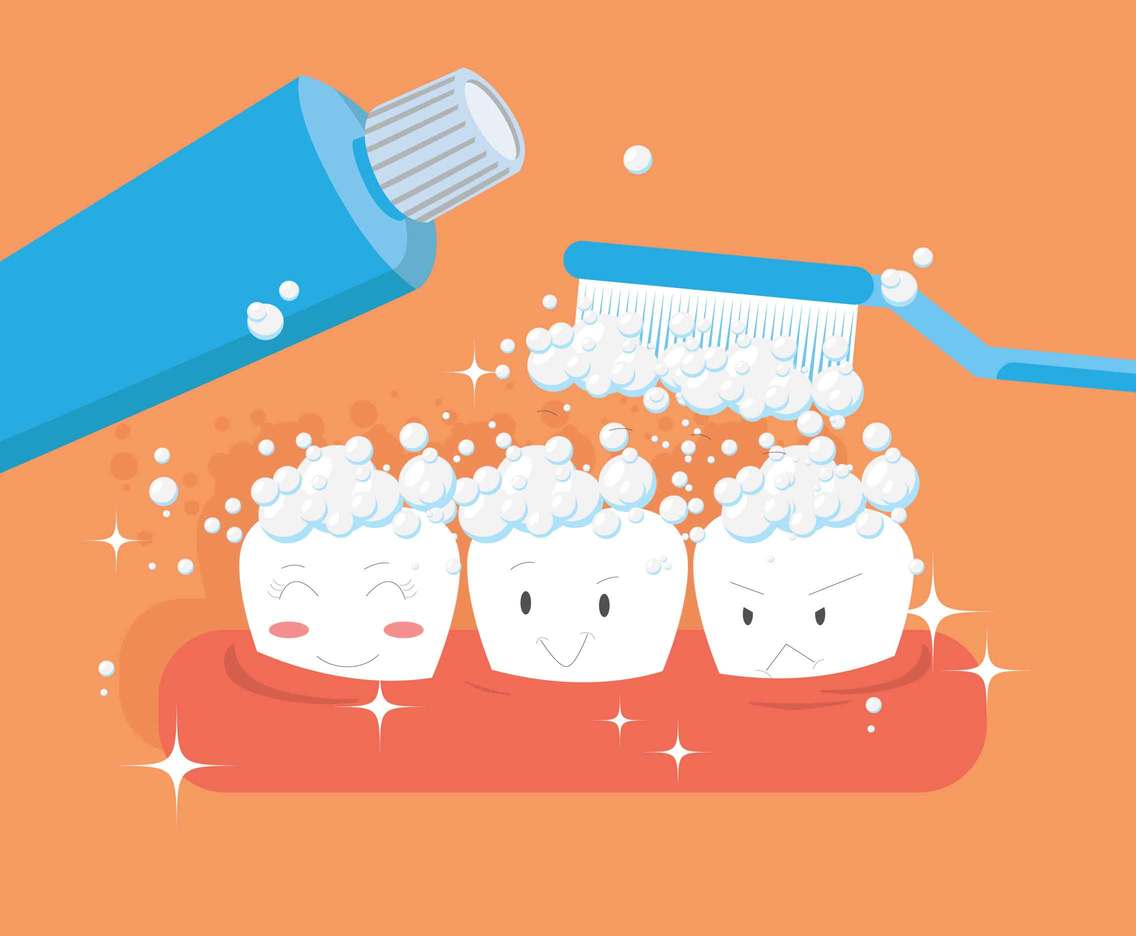 Free Toothpaste Illustration