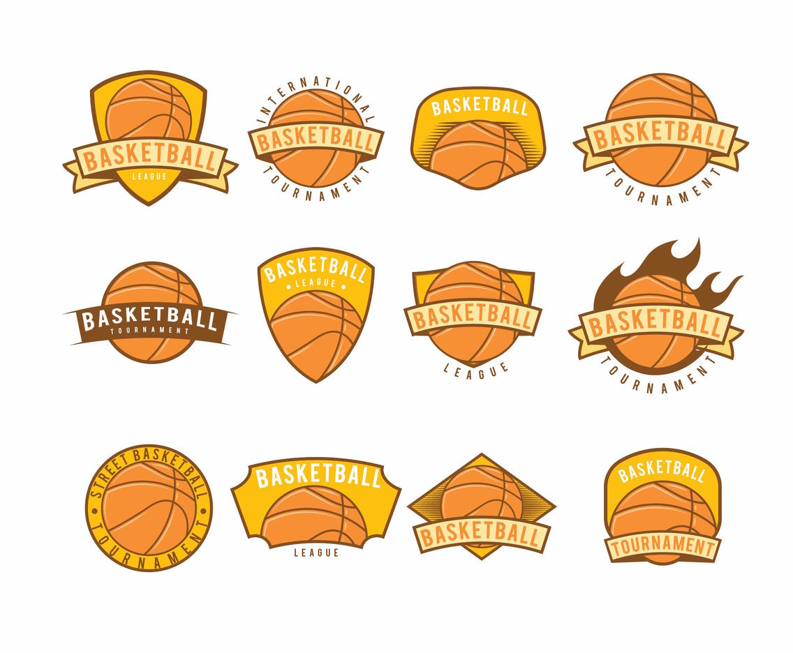 Basketball Logos Set