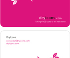 DryIcons Business Card Template