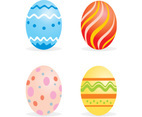 Easter sample eggs