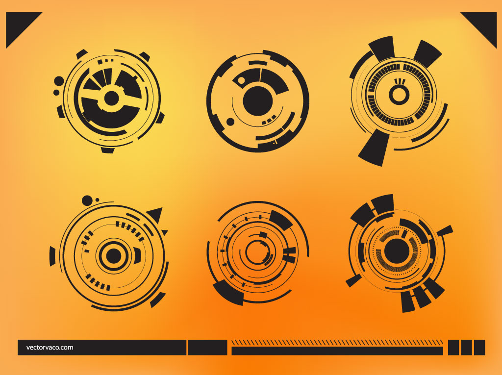Abstract Technology Graphics Vector Art & Graphics