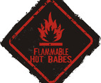 Flammable warning