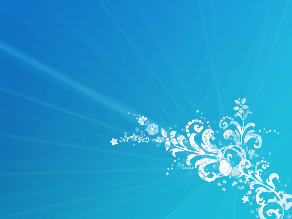 Blue Floral Background Vector Art Graphics Freevector Com