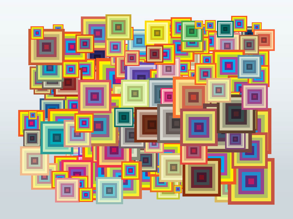 Multicolored Squares