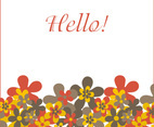 Hello greeting