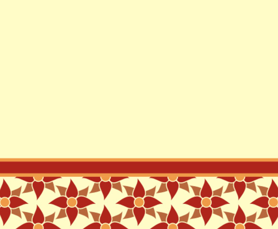 Flower styled wallpaper