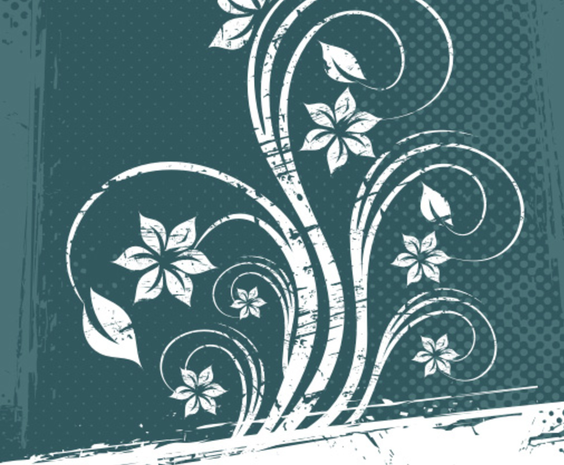White Flower Frame Vector Art Graphics Freevector