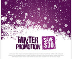 Winter Promotion Template