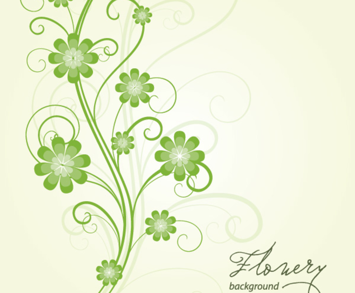 Flowery Background Vector